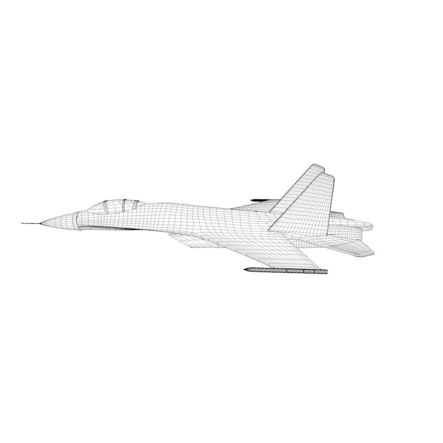 전투기 / 비행기 / 항공기 royalty-free 3d model - Preview no. 5