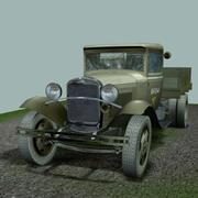 GAZ-AA「大型トラック」。 3d model