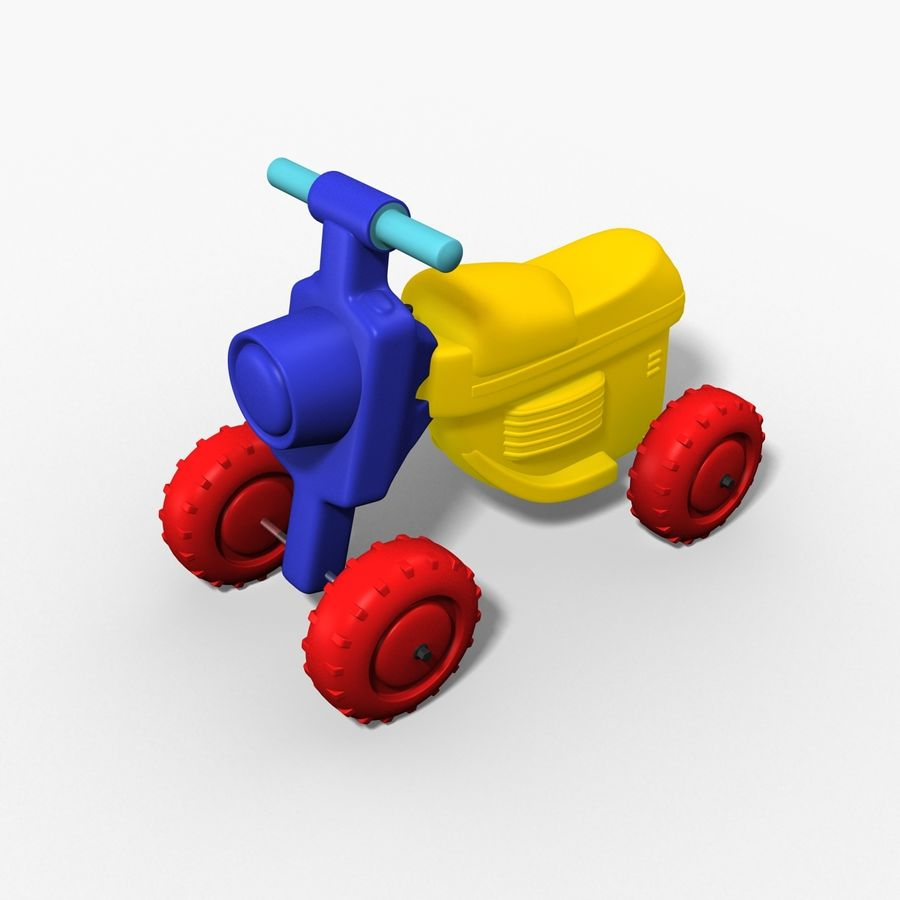 Petit chariot royalty-free 3d model - Preview no. 2