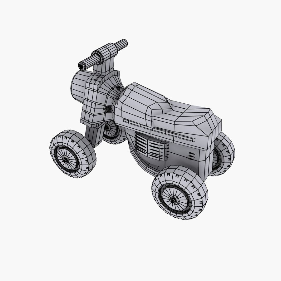 Petit chariot royalty-free 3d model - Preview no. 7