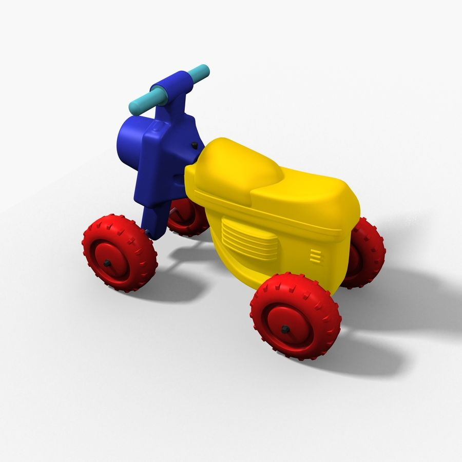 Petit chariot royalty-free 3d model - Preview no. 3