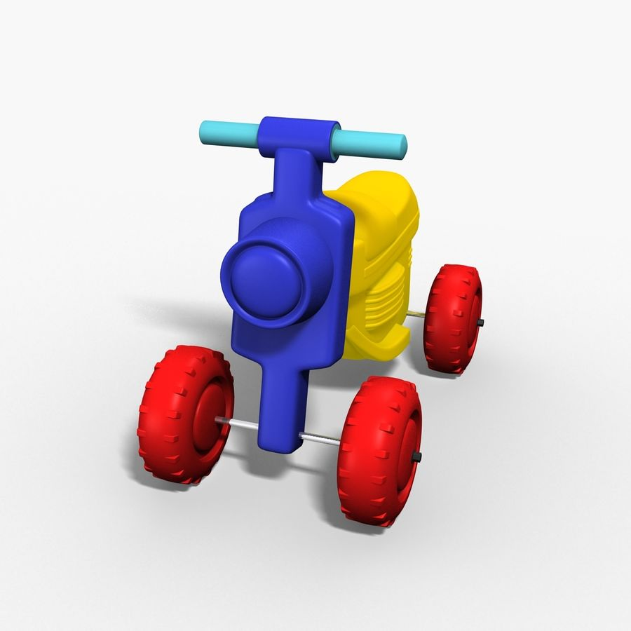 Petit chariot royalty-free 3d model - Preview no. 5
