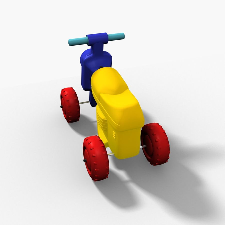 Petit chariot royalty-free 3d model - Preview no. 1