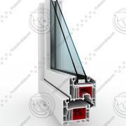 Profil okienny PCV 3d model