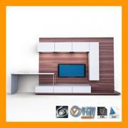 TV-opslag 3d model