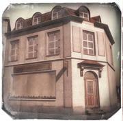 old corner building in/outdoor 3d model