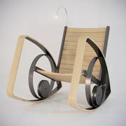 흔들 의자 운이 좋은 3d model