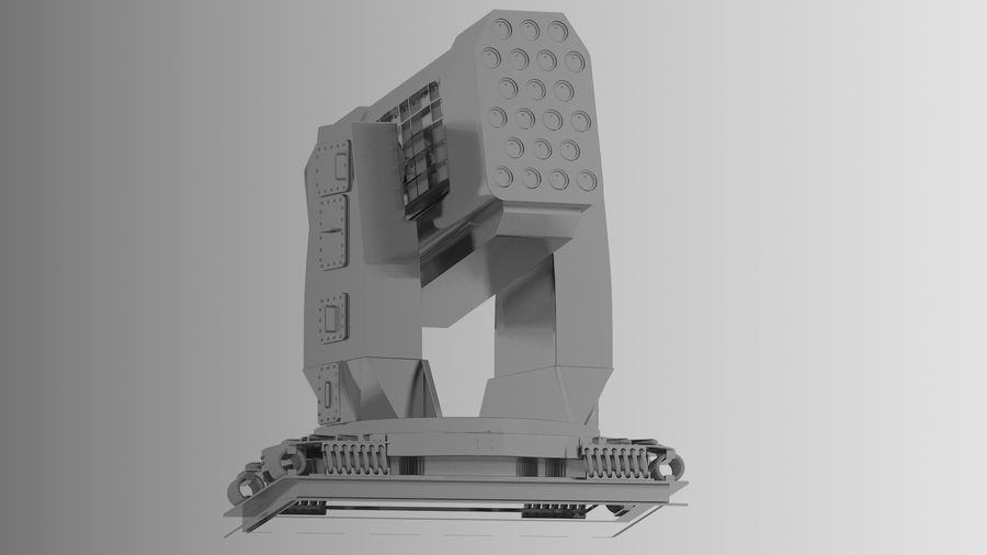 Wyrzutnia rakiet royalty-free 3d model - Preview no. 3