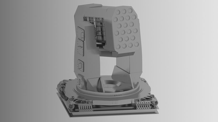 Missile Launcher royalty-free 3d model - Preview no. 2