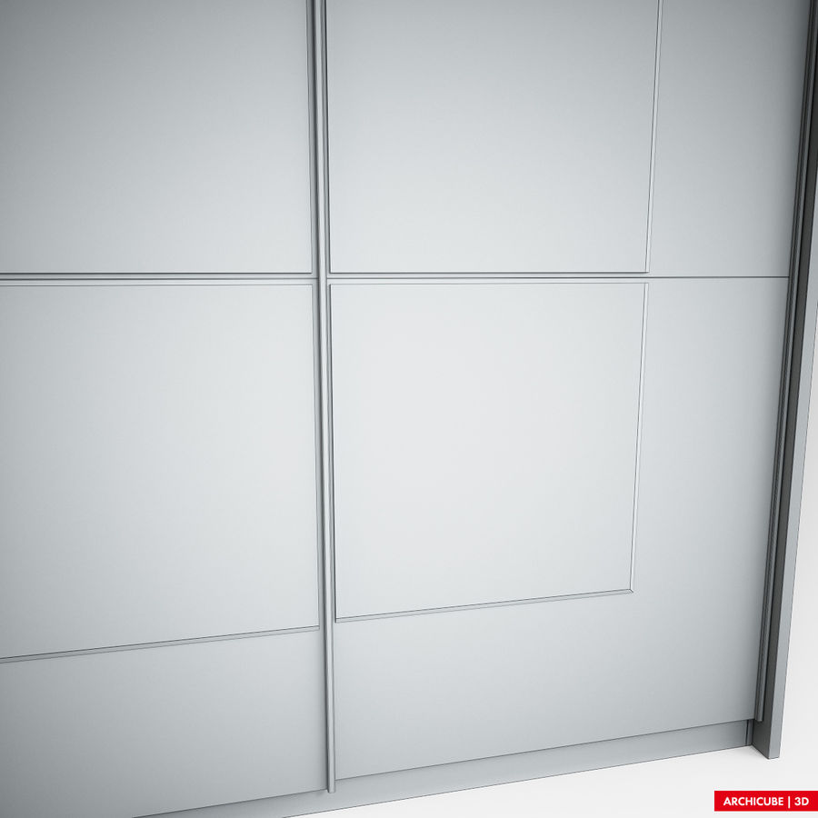 衣柜 royalty-free 3d model - Preview no. 10