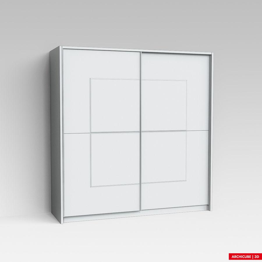 衣柜 royalty-free 3d model - Preview no. 6