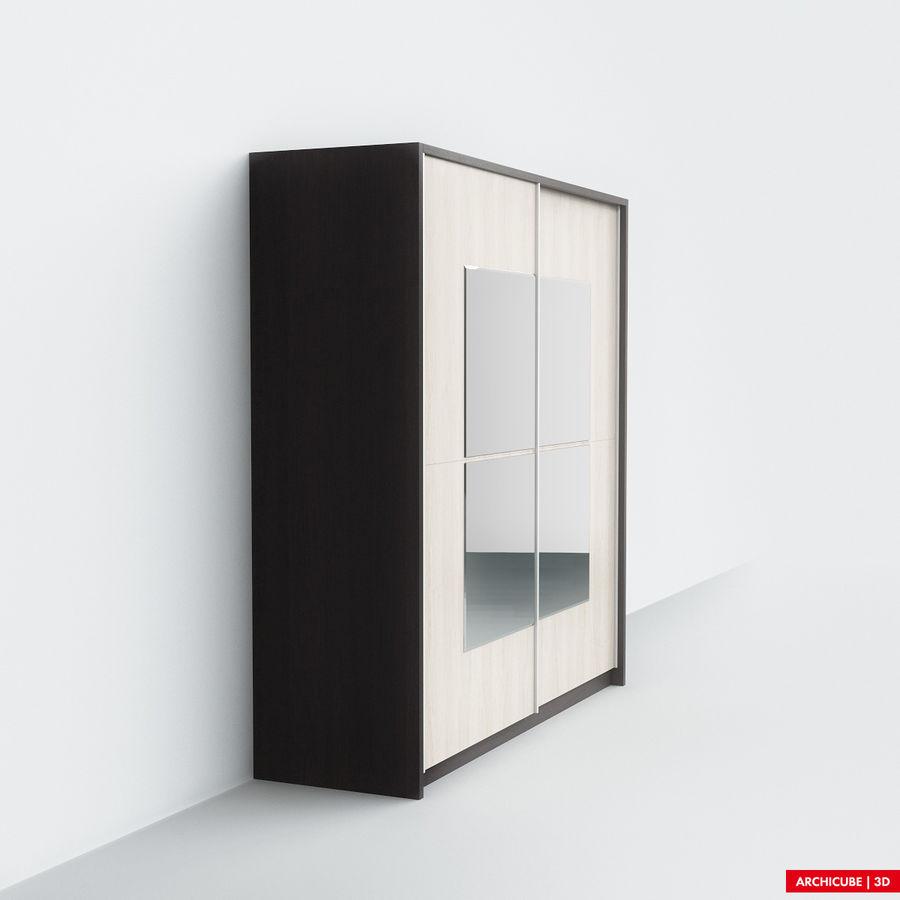 衣柜 royalty-free 3d model - Preview no. 2