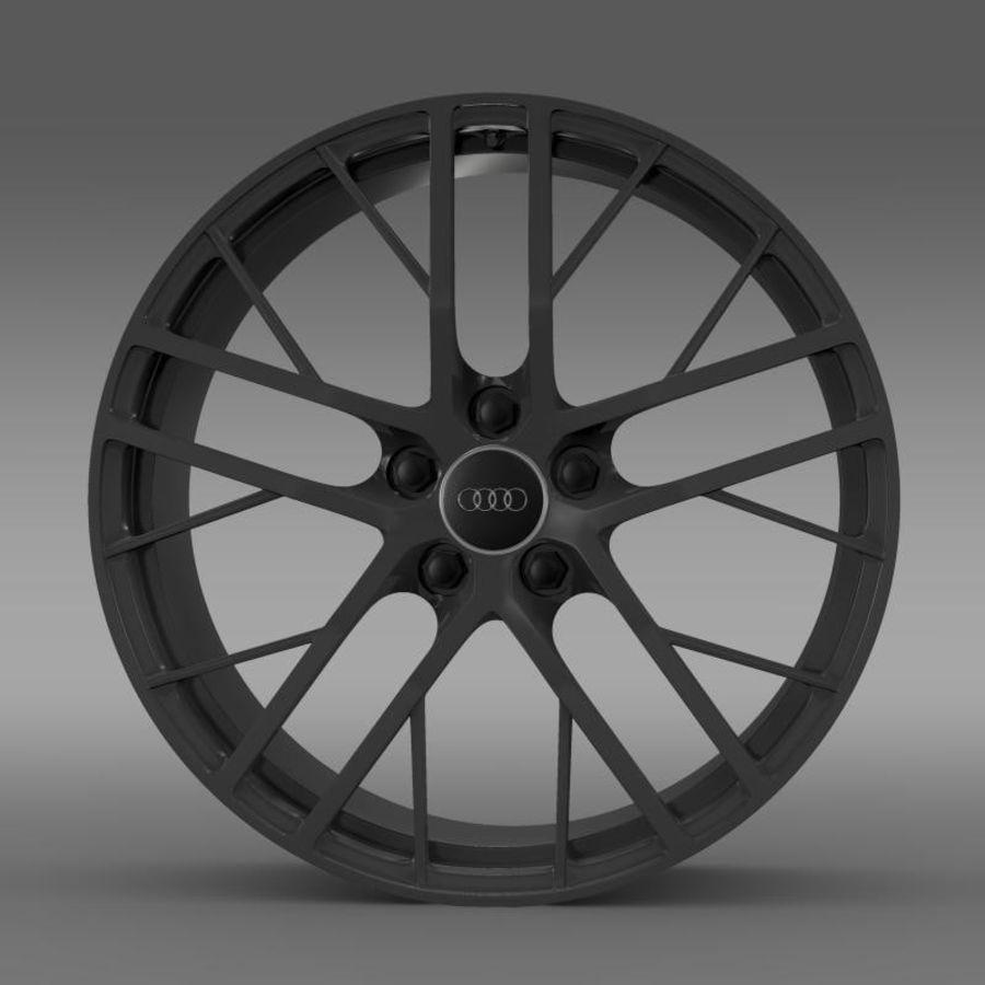 Cerchio Audi R8 LMX 2014 royalty-free 3d model - Preview no. 2