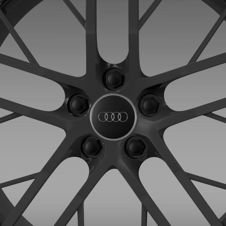 Cerchio Audi R8 LMX 2014 royalty-free 3d model - Preview no. 5