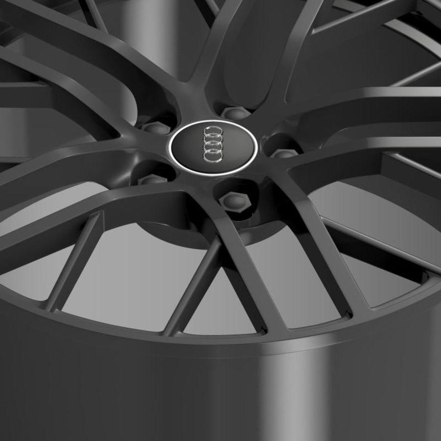 Cerchio Audi R8 LMX 2014 royalty-free 3d model - Preview no. 4