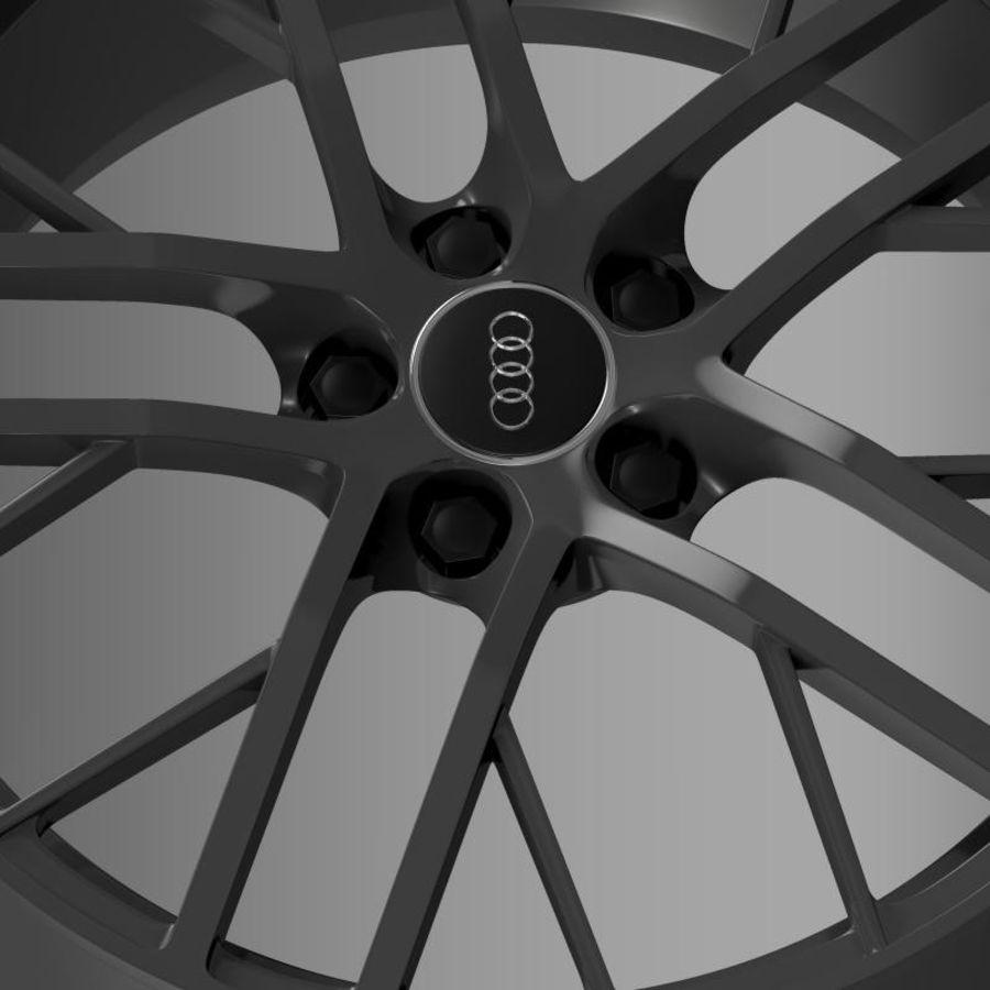 Cerchio Audi R8 LMX 2014 royalty-free 3d model - Preview no. 6