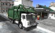 Camion à ordures 3d model