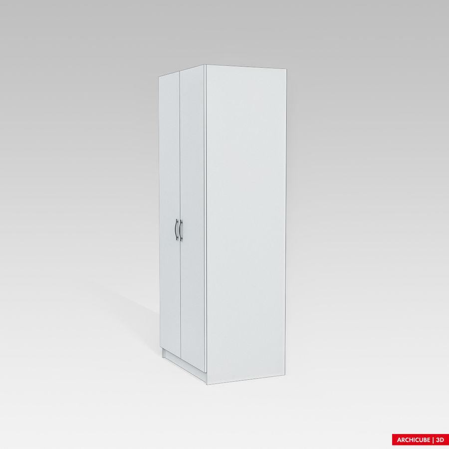 衣柜 royalty-free 3d model - Preview no. 9