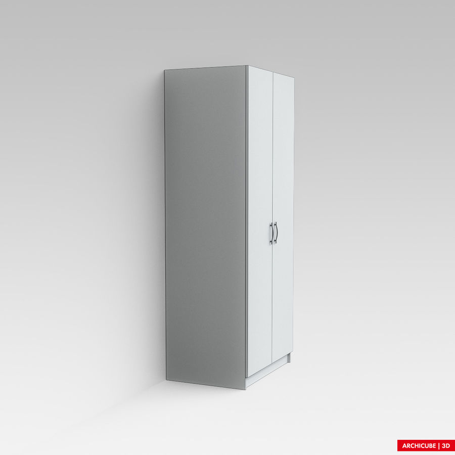 衣柜 royalty-free 3d model - Preview no. 7