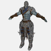 Armored Warrior 3d model