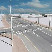 City Crossroads & Elements 3d model