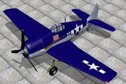 Grumman Hellcat 3d model
