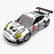 Porsche RSR 3d model