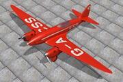 De Haviland Comet Racer 3d model