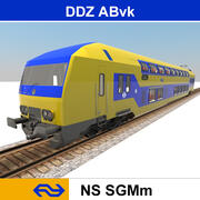 ABvk DDZ / NS DDZ 7539 3d model