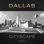 ダラス都市景観Vol1 3d model