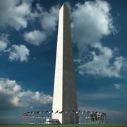Washington Monument 3d model