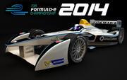 Formula E Spark Renault SRT 01E 2014 3d model