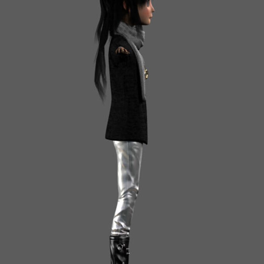 卡通形象 royalty-free 3d model - Preview no. 4