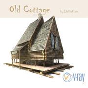 Old cottage 3d model