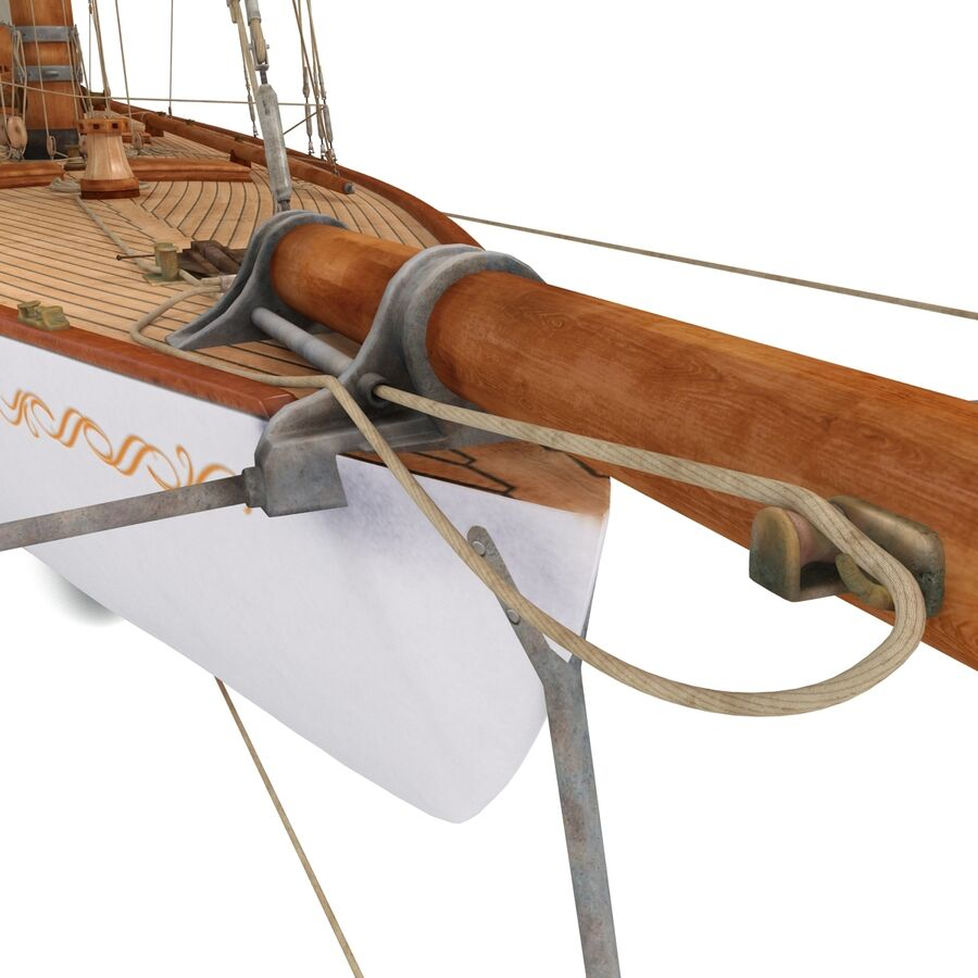 Segelboot royalty-free 3d model - Preview no. 37