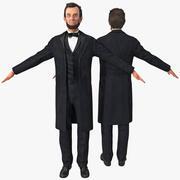 아브라함 링컨 3d model