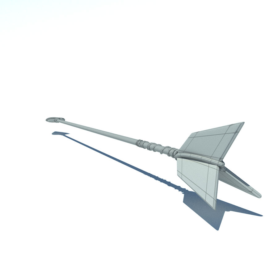 arrow_old royalty-free 3d model - Preview no. 7