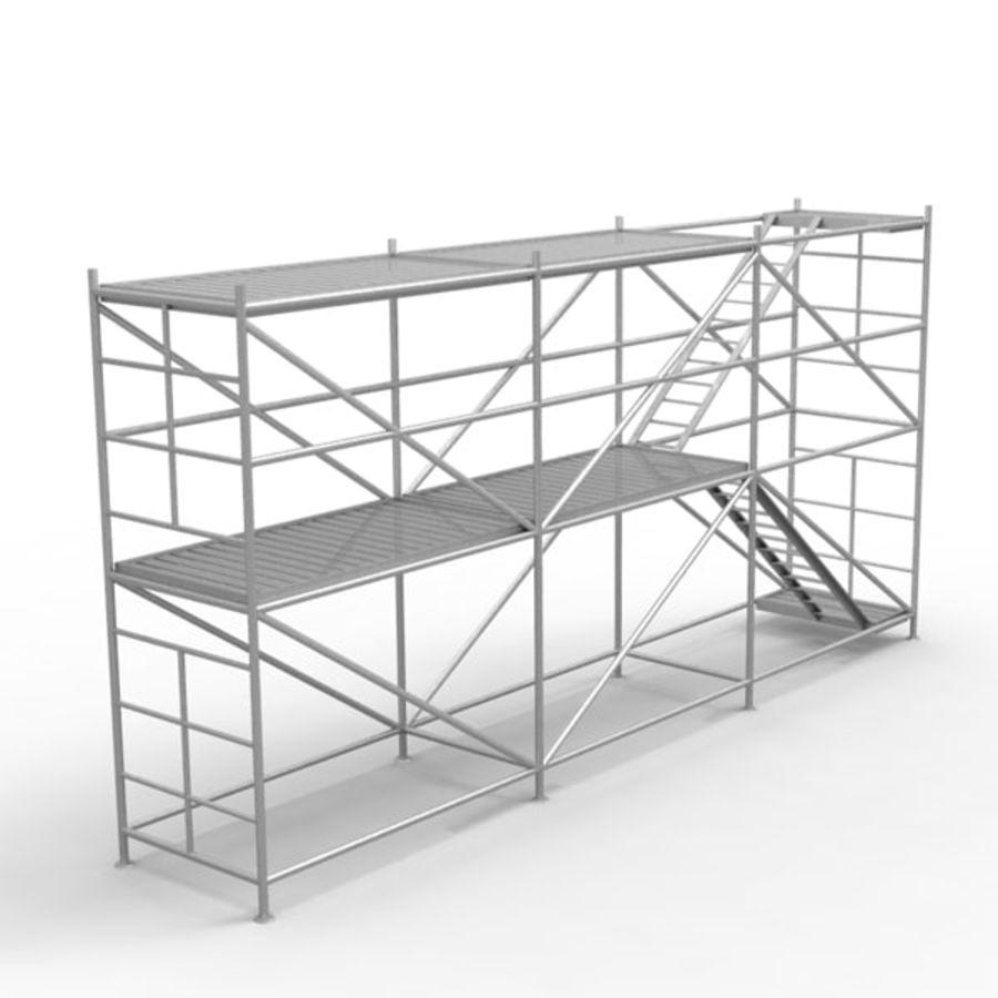 Scaffolding royalty-free 3d model - Preview no. 2