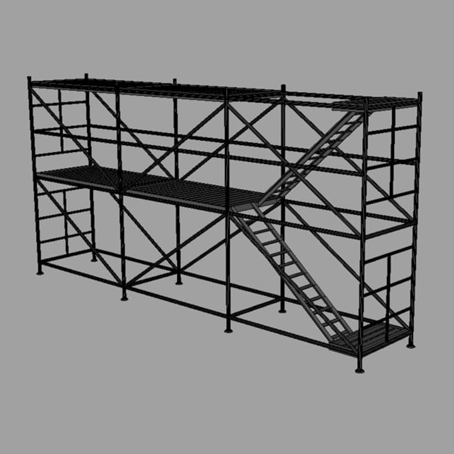 Scaffolding royalty-free 3d model - Preview no. 5
