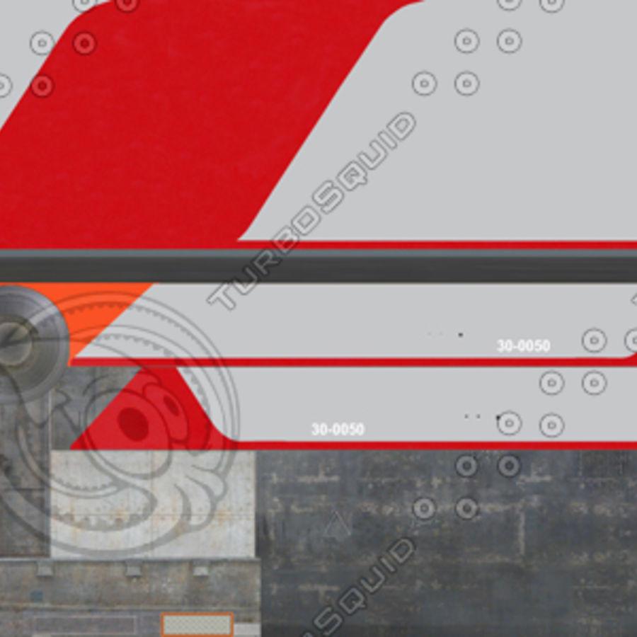 Elektrischer Zug royalty-free 3d model - Preview no. 10