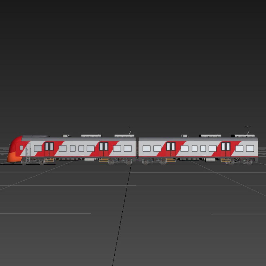 Elektrischer Zug royalty-free 3d model - Preview no. 5