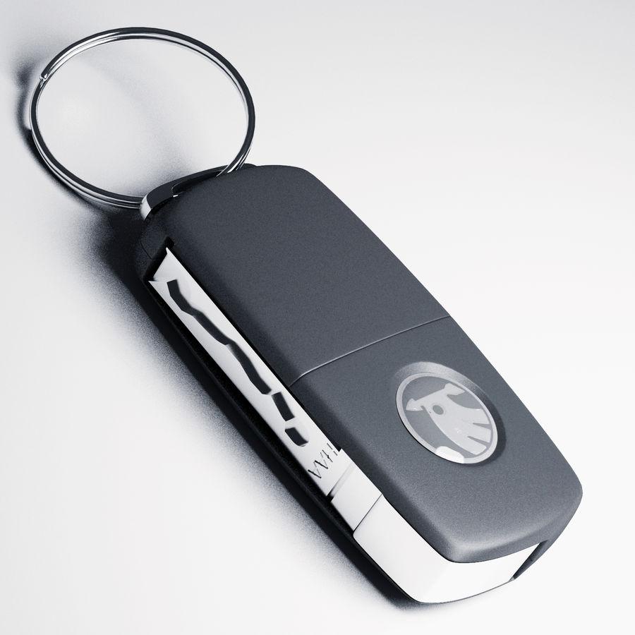 car key royalty-free 3d model - Preview no. 4