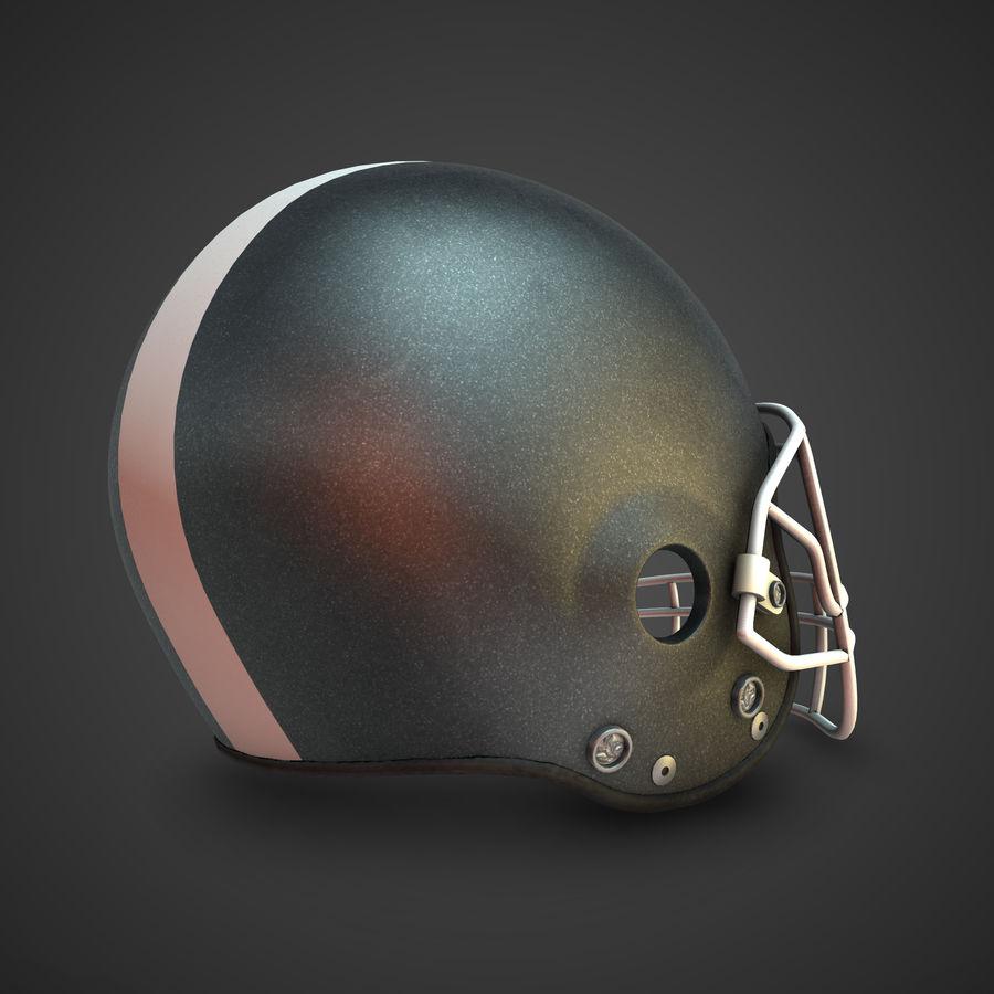Kolekcja kasków piłkarskich royalty-free 3d model - Preview no. 6