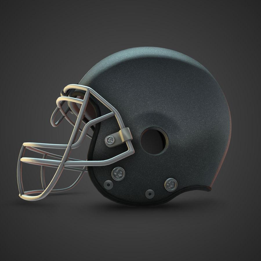 Kolekcja kasków piłkarskich royalty-free 3d model - Preview no. 5