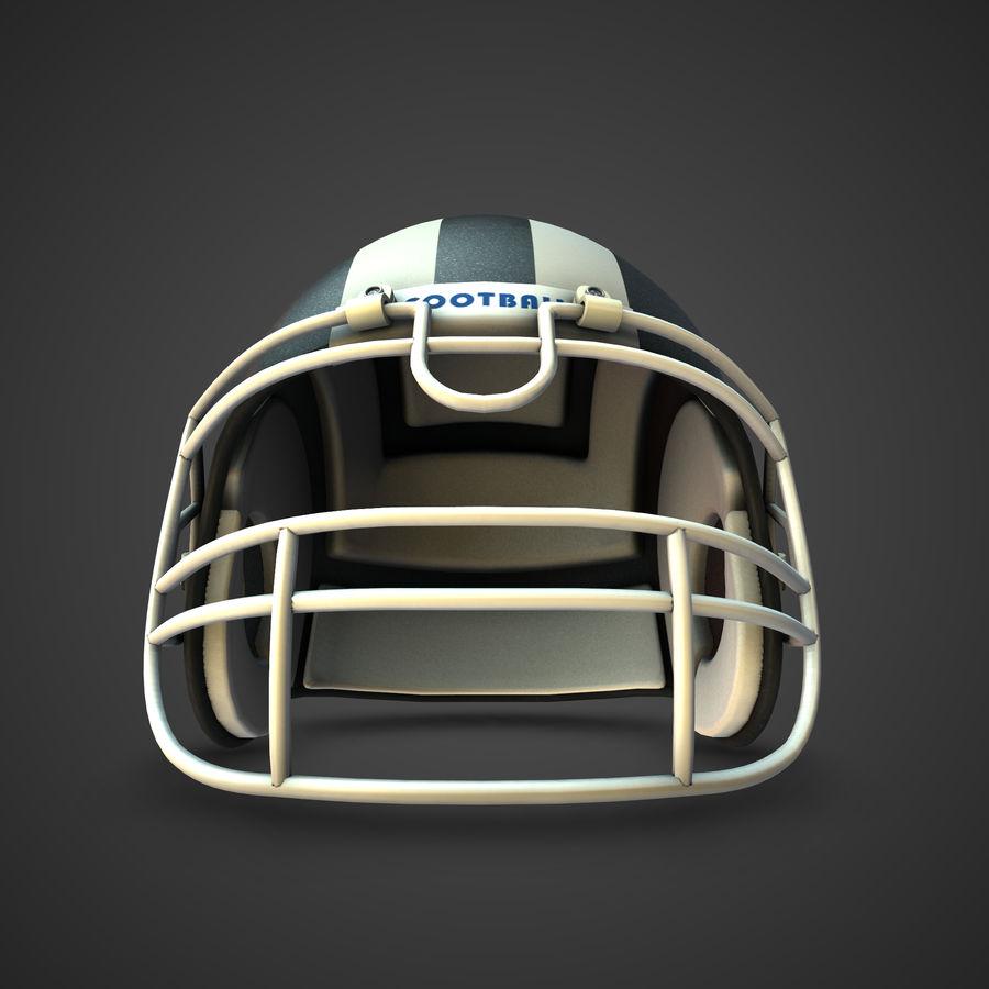Kolekcja kasków piłkarskich royalty-free 3d model - Preview no. 4