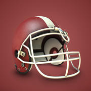 Coleção de capacete de futebol 3d model