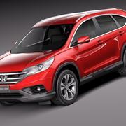Honda CR-V 2014 Euro 3d model