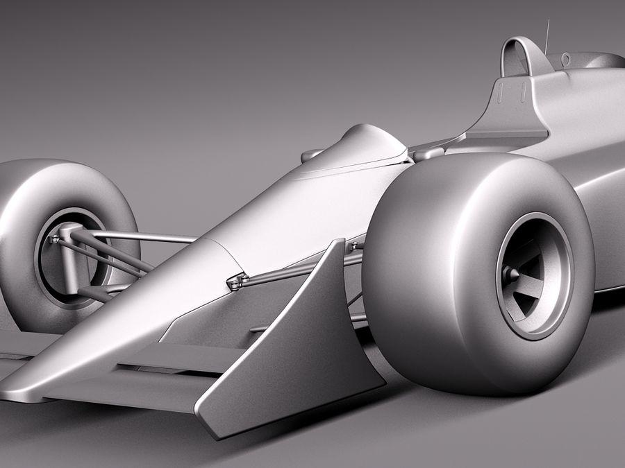 McLaren Honda Mp4-4 Ayrton Senna F1 royalty-free 3d model - Preview no. 11