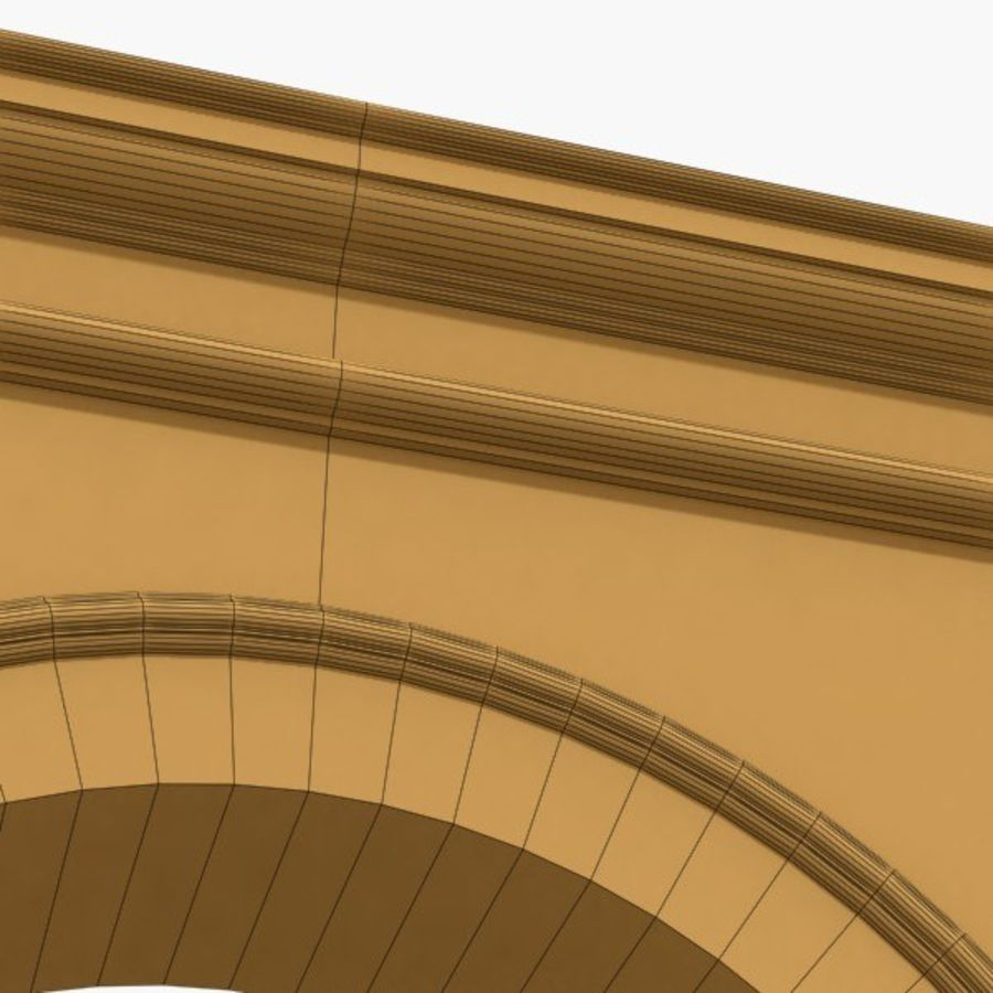 Arch 003-1 royalty-free 3d model - Preview no. 7