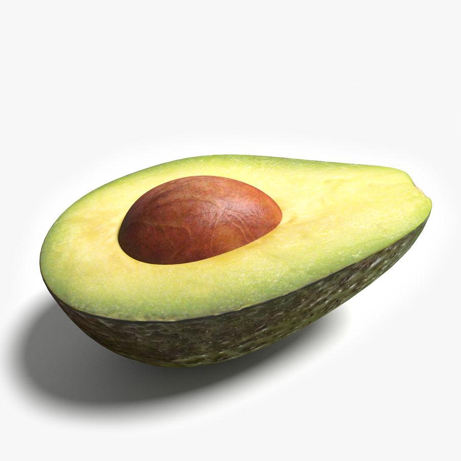 Mezzo avocado royalty-free 3d model - Preview no. 1